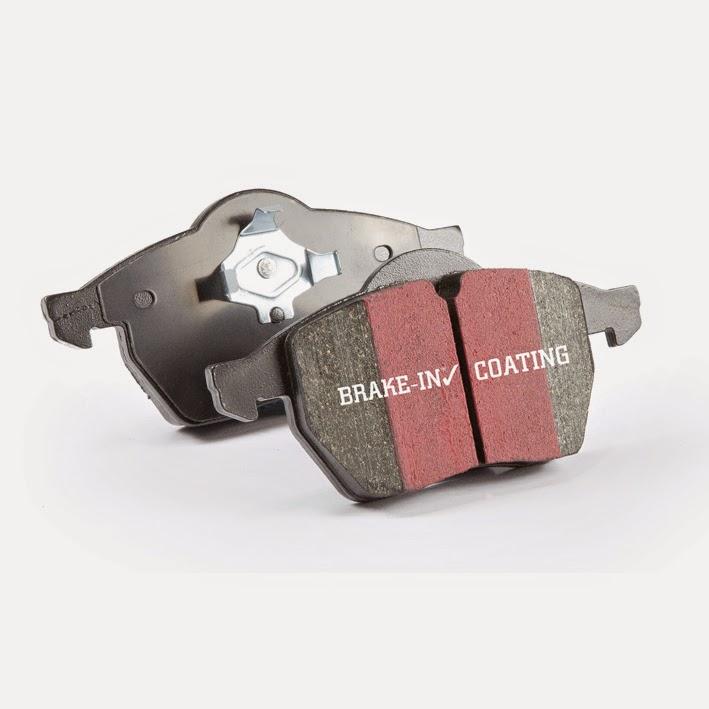 EBC Blackstuff Bremsbeläge Hinterachse DP231 für Fiat Tempra