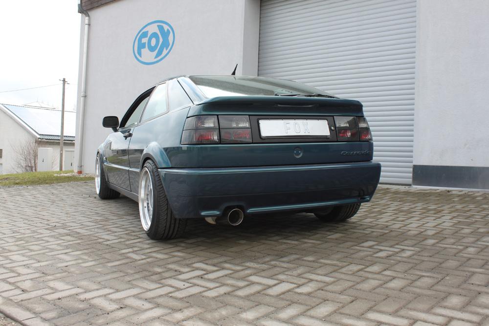 ABE 01-05 Sportauspuff 2x76mm für BMW E46 320 323 325 328 330 Bj